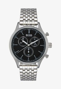 BOSS - Hodinky se stopkami - silver-coloured/black - 1