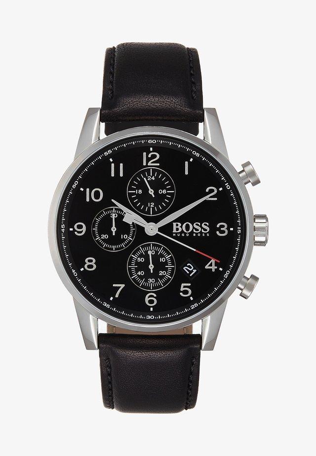 NAVIGATOR - Chronograph watch - black