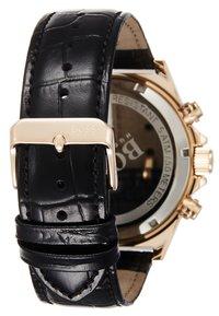 BOSS - Montre à aiguilles - black/rose gold-coloured - 2