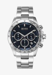 BOSS - Chronograph watch - silver-coloured/metallic blue - 1