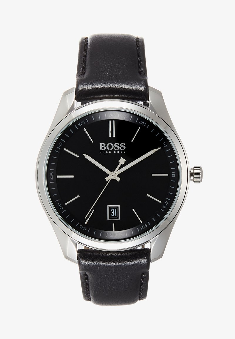 BOSS - CIRCUIT GIFT SET - Watch - black/silver-coloured