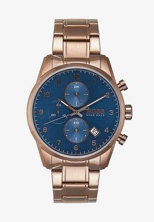 SKYMASTER - Cronografo - brown/blue