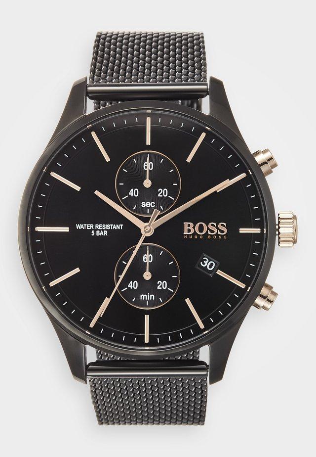 ASSOCIATE - Zegarek chronograficzny - schwarz
