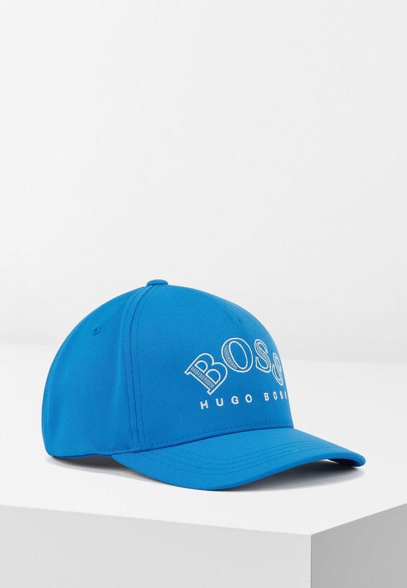 BOSS - CURVED - Cap - blue