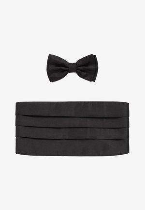 SET BOW TIE - Vlinderdas - black