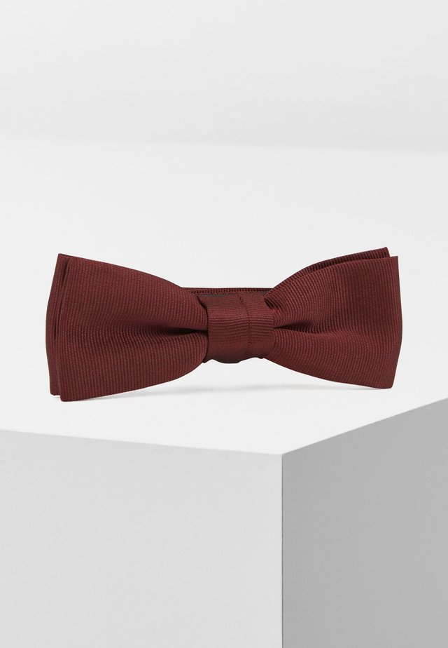 BOW TIE FASHION - Vlinderdas - dark red