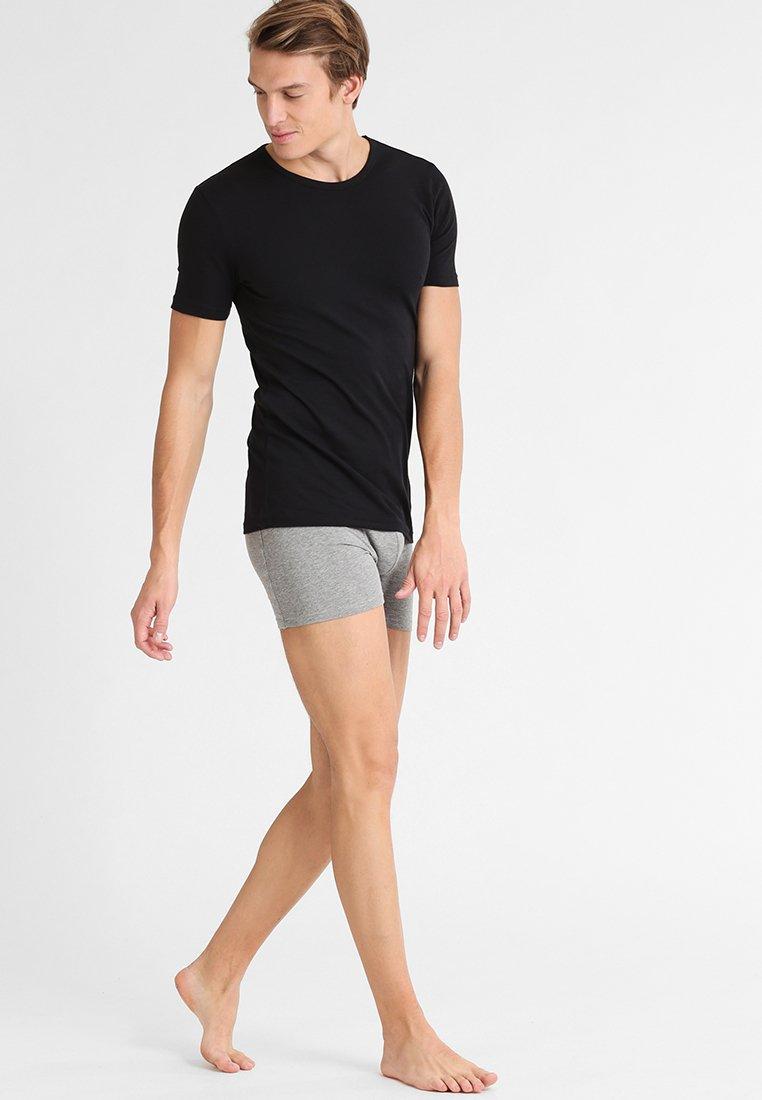 BOSS - 2 PACK - Unterhemd/-shirt - black