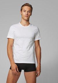 BOSS - 3 PACK - Camiseta interior - black - 0