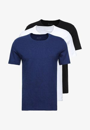 3 PACK - Camiseta interior - dark blue/blue/white