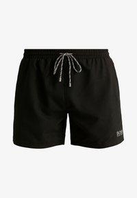 BOSS - PEARLEYE - Swimming shorts - black - 4