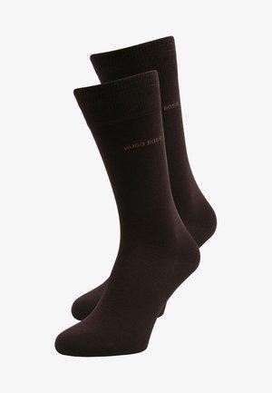 UNI 2 PACK - Socks - dark brown