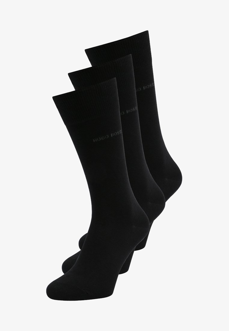 BOSS - 3 PACK - Chaussettes - black