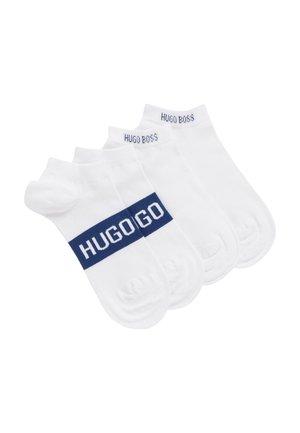 2P AS LOGO CC - Socks - white