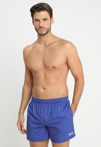 BOSS - PIKE - Swimming shorts - medium blue - 0