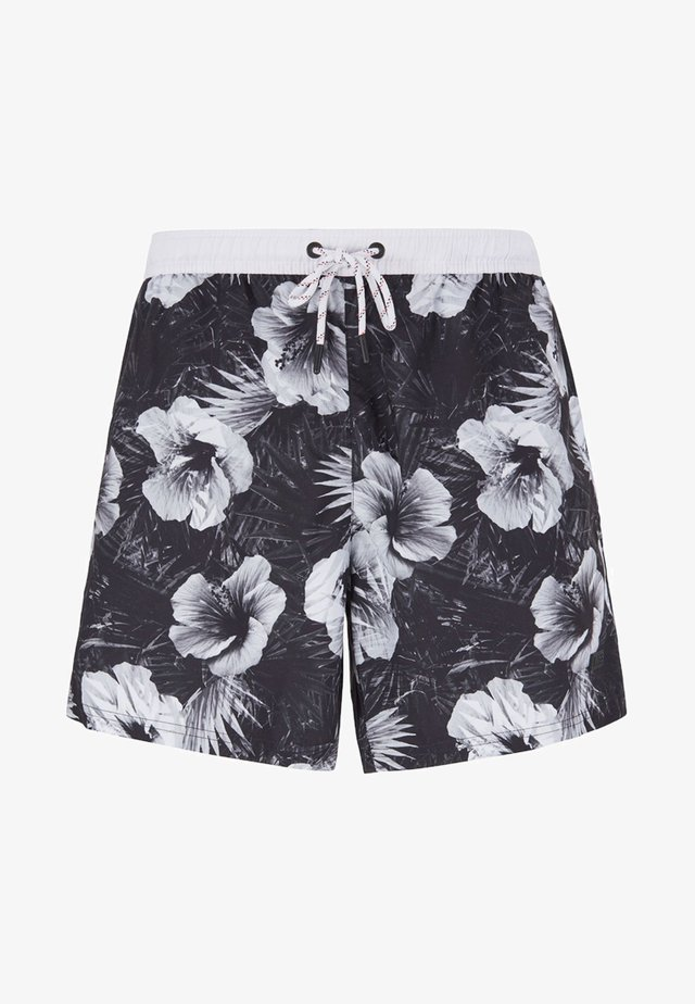 PIRANHA - Swimming shorts - open grey