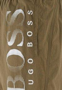BOSS - OCTOPUS - Swimming shorts - dark brown - 4