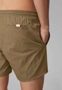 BOSS - OCTOPUS - Swimming shorts - dark brown - 2