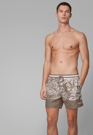 BARRACUDA - Swimming shorts - open brown