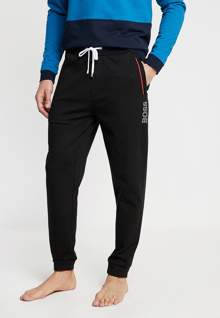 BOSS - Teplákové kalhoty - black