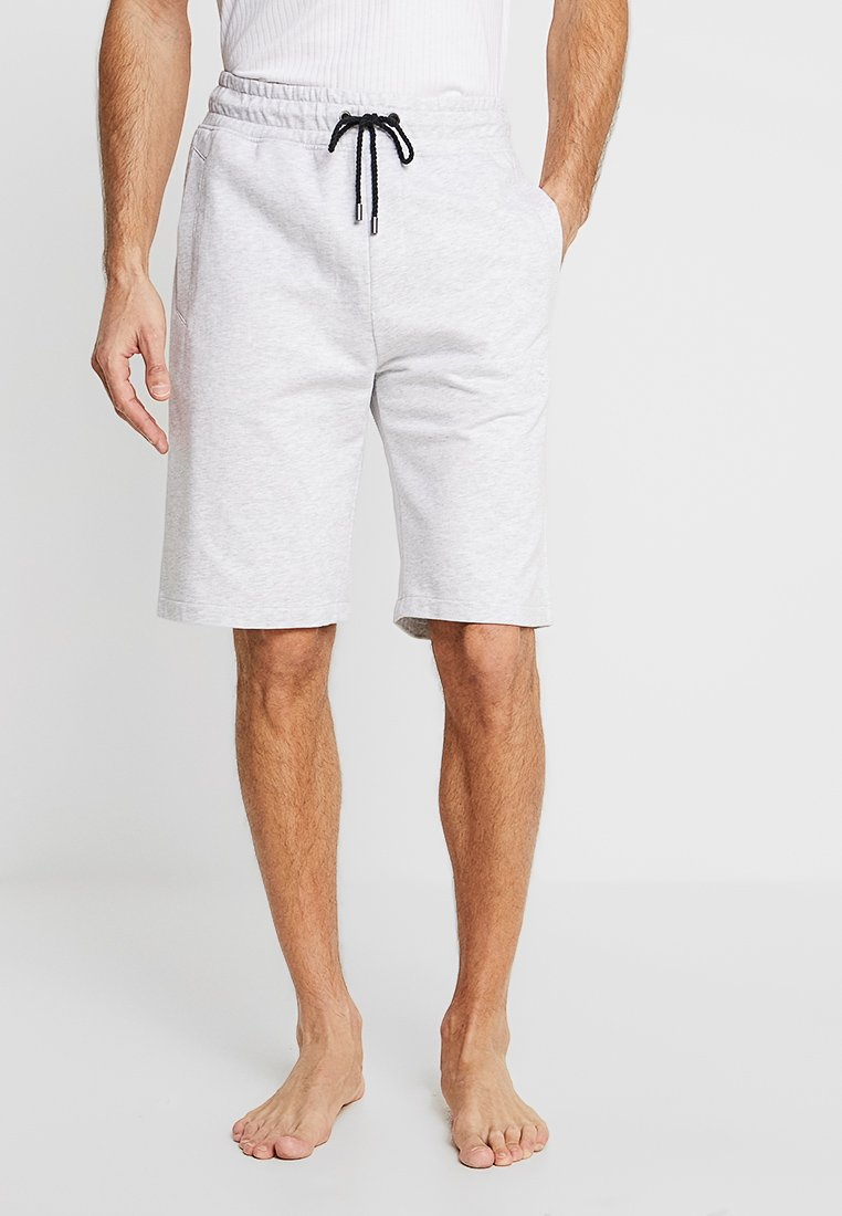 BOSS - HERITAGE SHORTS - Pyjamasbyxor - medium grey