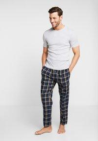 BOSS - DYNAMIC PANTS  - Pantalón de pijama - open blue - 1