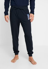 BOSS - AUTHENTIC PANTS - Pyjamasbyxor - dark blue - 0