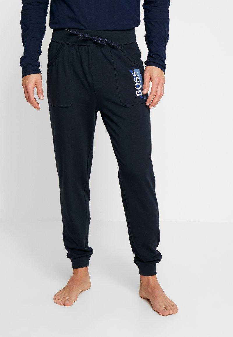 BOSS - AUTHENTIC PANTS - Pyjamasbyxor - dark blue