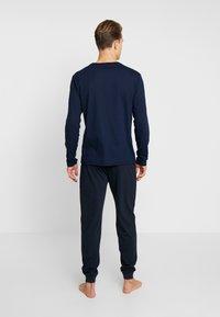 BOSS - AUTHENTIC PANTS - Pyjamasbyxor - dark blue - 2