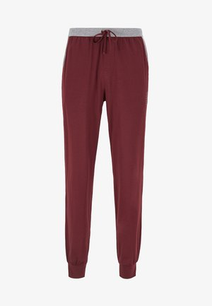 Pyjama bottoms - dark red