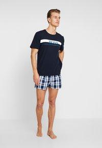BOSS - URBAN SET - Pijama - bright blue - 1