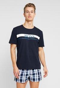 BOSS - URBAN SET - Pijama - bright blue - 0