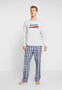 BOSS - URBAN LONG SET  - Pijama - medium blue - 0