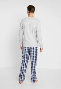 BOSS - URBAN LONG SET  - Pijama - medium blue - 2