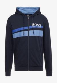 BOSS - AUTHENTIC JACKET  - Hoodie met rits - dark blue - 3