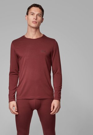 LS-SHIRT RN THERMAL+ - Maglia del pigiama - dark red