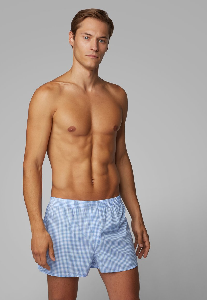 BOSS - BOXER 2PACK - Boxershort - open blue