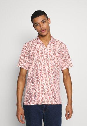 Shirt - white/orange