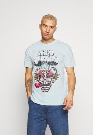 TYE DIE  - T-shirt med print - natural/mint