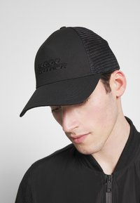 Blood Brother - BASEBALL  CLASSIC TRUCKER - Lippalakki - black - 1