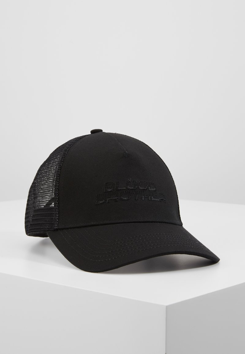 Blood Brother - BASEBALL  CLASSIC TRUCKER - Lippalakki - black