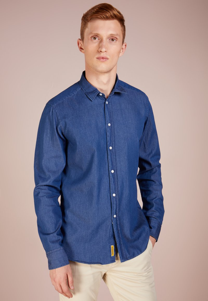 BD Baggies - DEXTER SLIM FIT - Shirt - blue