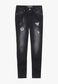 Blue Effect - GIRLS DESTROYED - Jeans Skinny Fit - black medium - 0