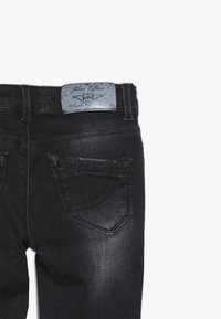 Blue Effect - GIRLS DESTROYED - Jeans Skinny Fit - black medium - 4