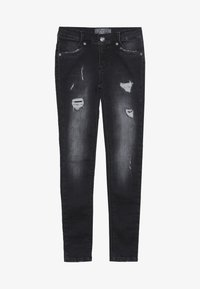 Blue Effect - GIRLS DESTROYED - Jeans Skinny Fit - black medium - 3
