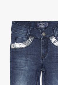 Blue Effect - GIRLS MIT PAILLETTEN - Jeans Skinny Fit - medium blue - 3