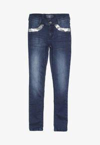 Blue Effect - GIRLS MIT PAILLETTEN - Jeans Skinny Fit - medium blue - 2