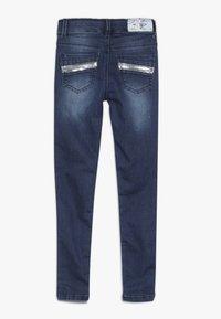Blue Effect - GIRLS MIT PAILLETTEN - Jeans Skinny Fit - medium blue - 1