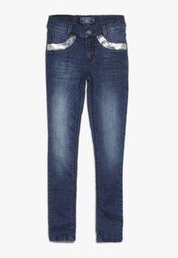 Blue Effect - GIRLS MIT PAILLETTEN - Jeans Skinny Fit - medium blue - 0