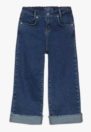 GIRLS PALAZZO CROPPED - Relaxed fit jeans - blue denim