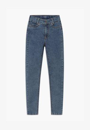 GIRLS HIGH-WAIST - Jeans Skinny Fit - moon blue